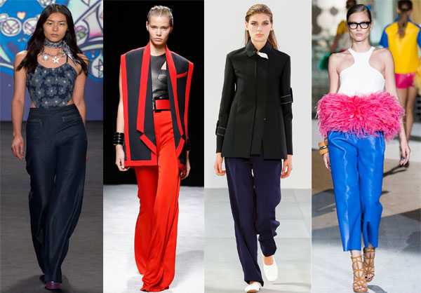 What to wear with oversize pants