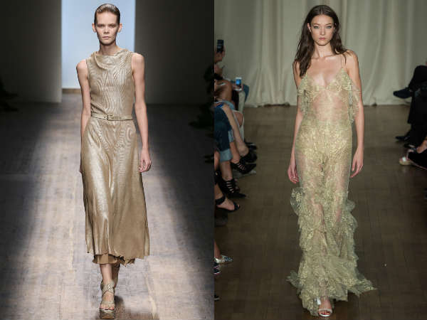 Gold eveningdresses 2016