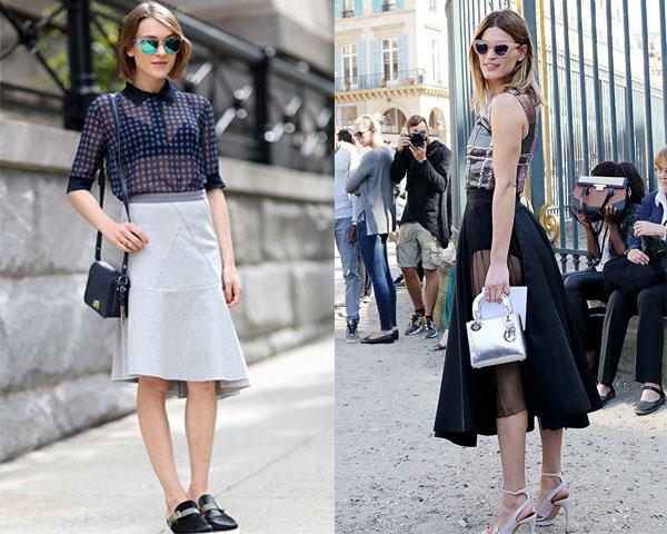 Semi-transparent clothes