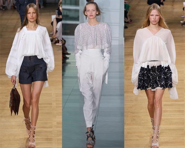 Long sleeve blouses Spring/Summer