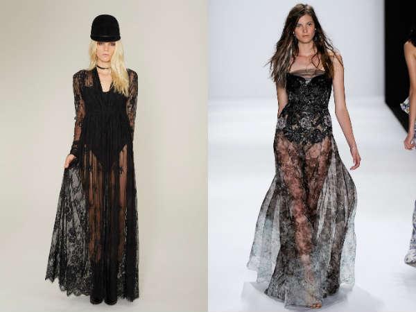 Full length evening dresses
