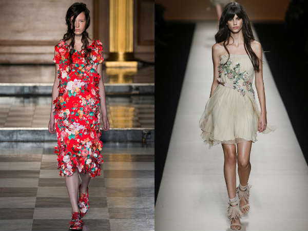Floral long and short