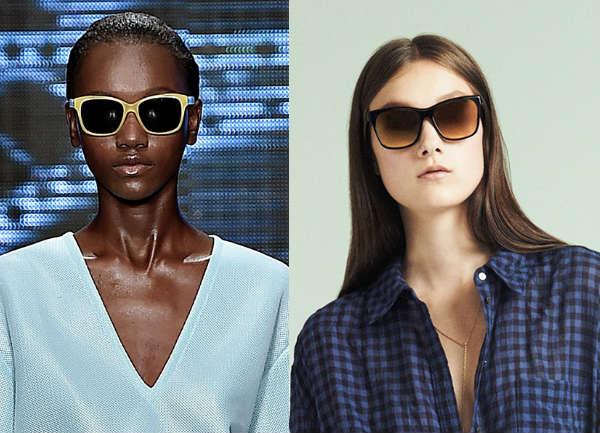 Women wayfarer sunglasses