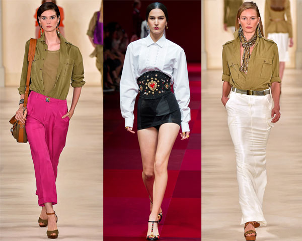Trendy blouses-shirts spring 2016 summer