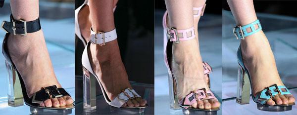 Versace heeled sandals