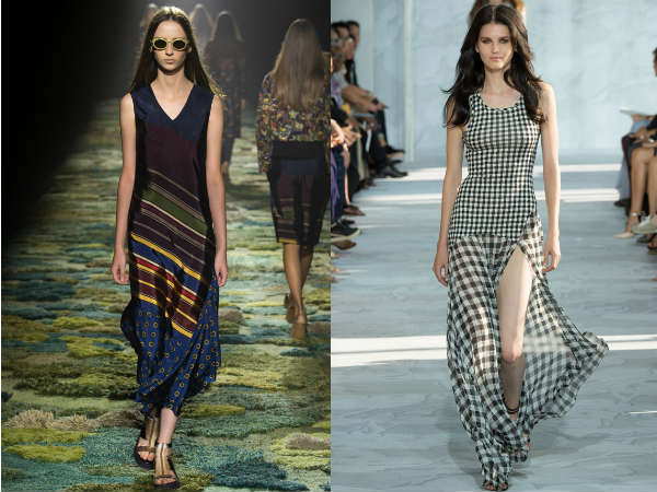 Spring-Summer floor length dresses 2016