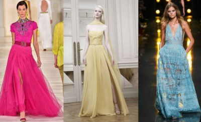 Ladies long evening dresses 2015: Spring-Summer