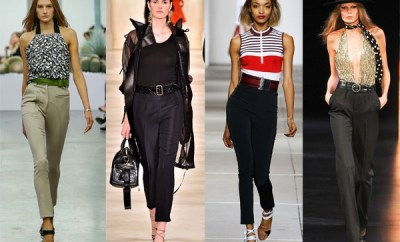 Trendy women pants Spring-Summer 2015