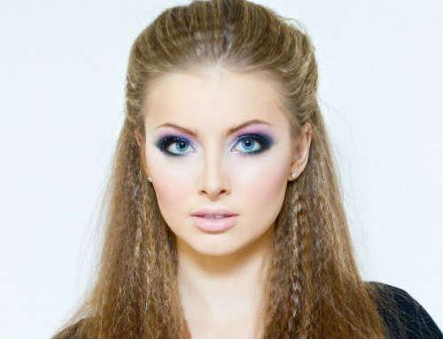 Evening makeup ideas blue eyes