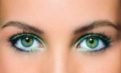 Makeup for Green Eyes, basic rules and colors