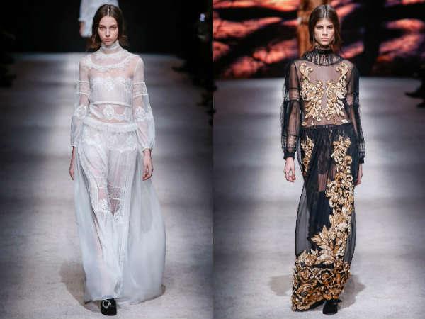 Milan Fashion Week Alberta Ferretti collection