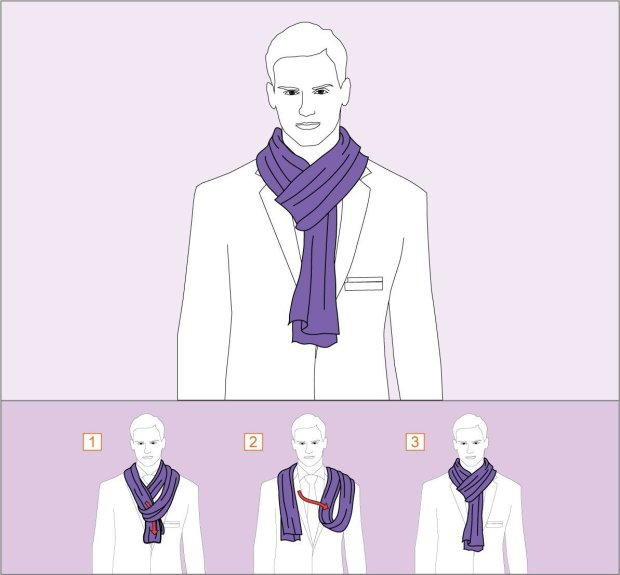 How to wear French Knot