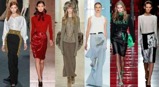 Fall-Winter 2016-2016 trendy skirts