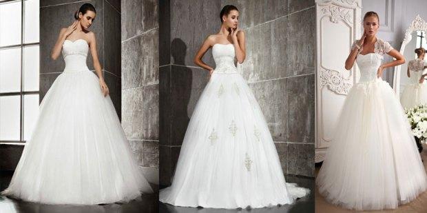 Puffy wedding dresses 2016