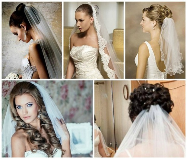 Wedding hairstyles with veil 2016