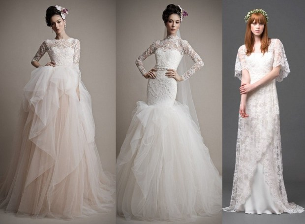 Wedding dresses 2016 lace