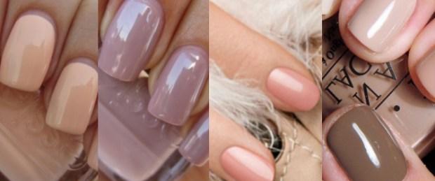 Wedding pastel shades nails