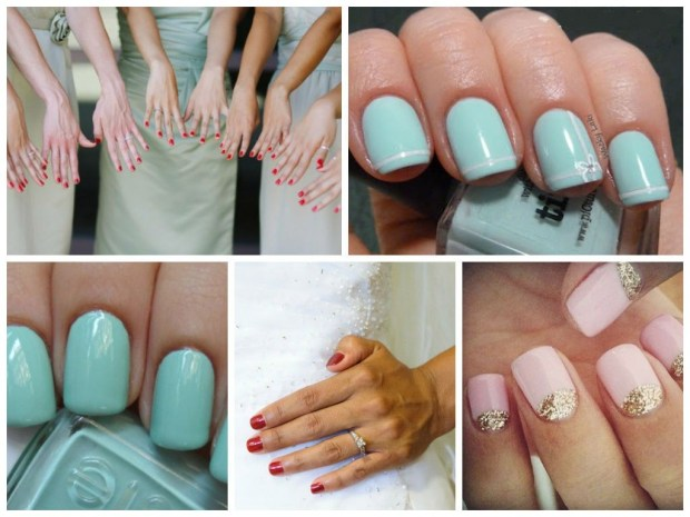 Wedding nails 2016 with gel nail polish