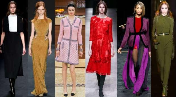 Fall-Winter 2016-2016 fashion color trends