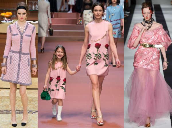 Pink clothing