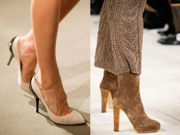 ladies suede footwear for fall