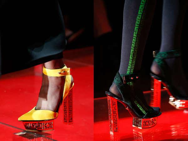 Versace high heeled