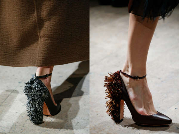 Rochas comfortable shoes with heels