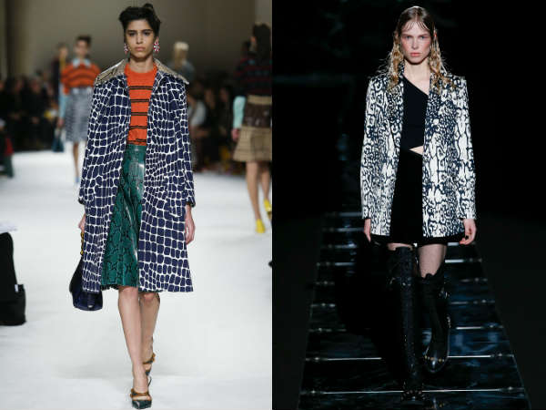Fall-Winter 2016 2017 with animal prints