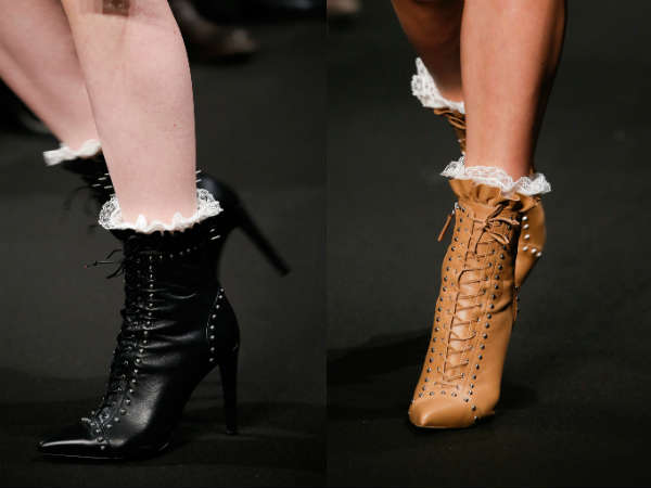 Lace ankle boots Fall-Winter 2016 2017