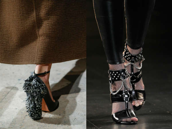 Fall Winter 2016-2016 footwear with décor