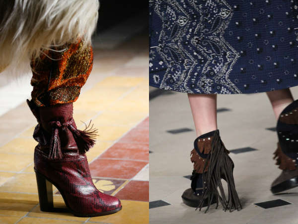 Fall 2016 decorated footwear trends