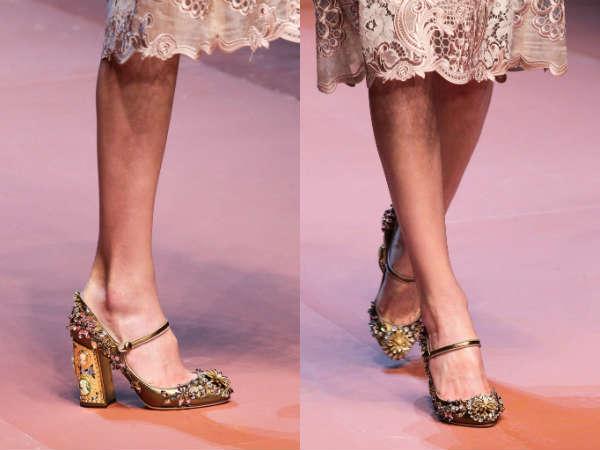 vintage with comfortable heel