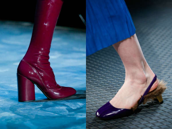 trendy colors comfortable heel