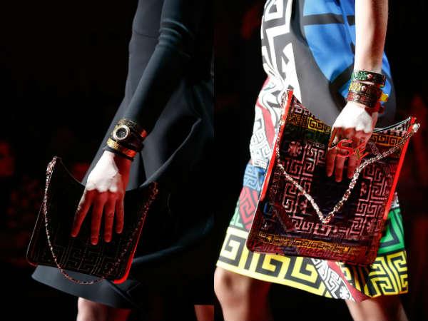 Versace envelope bag