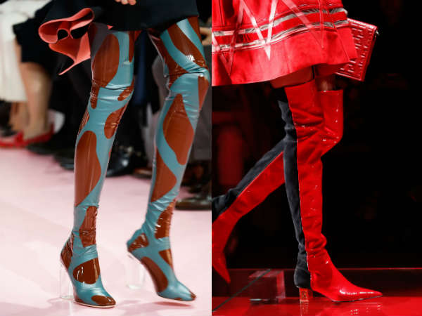 Boots Fall 2016 Winter 2017 colors and prints