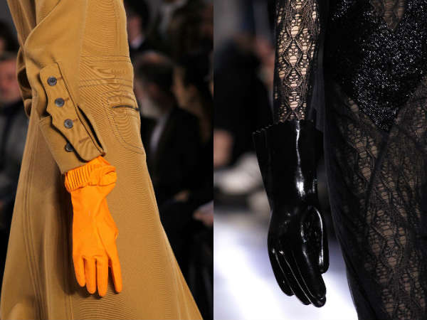 Womens gloves accessory