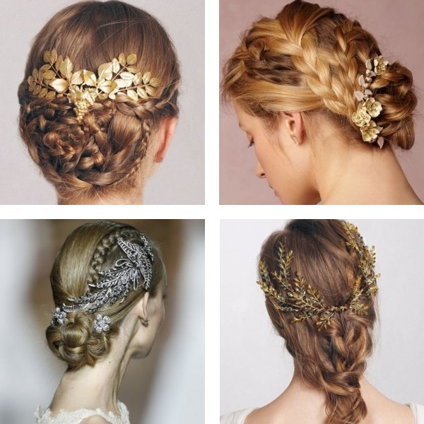 Wedding hairstyles 2017 braids and knots