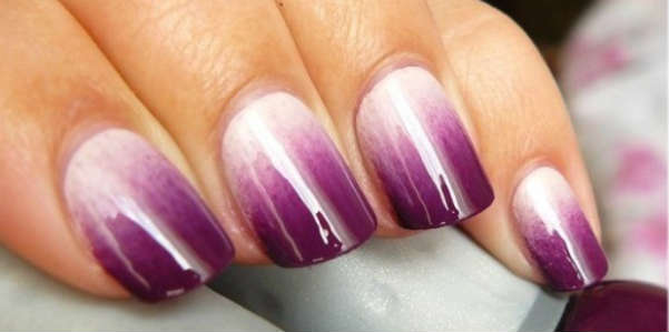 violet ombre