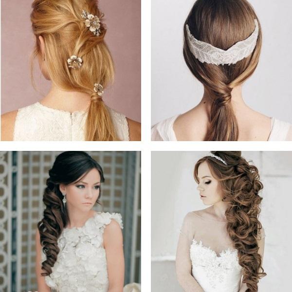 Wedding hairstyles 2017 low ponytail