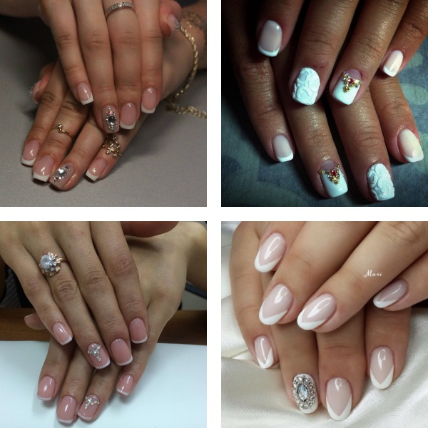 3D Wedding nails 2017