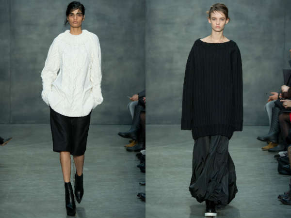 oversize knitted
