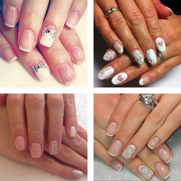 Wedding nail shape 2017
