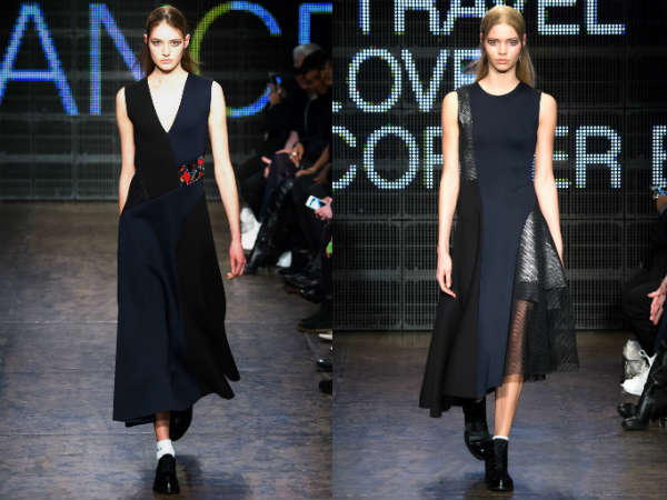 What casual dresses are in style in Fall 2016