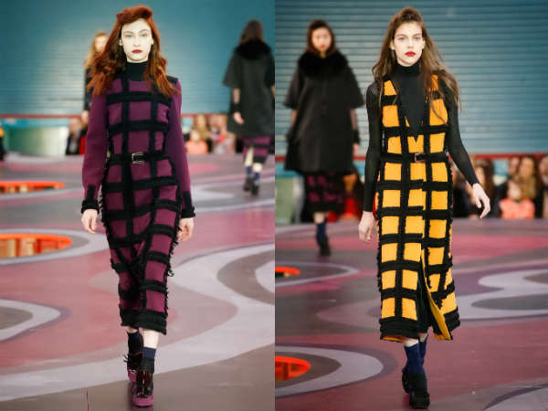 long chequered