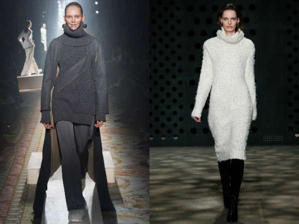 Long sweaters Fall-Winter 2016 2017