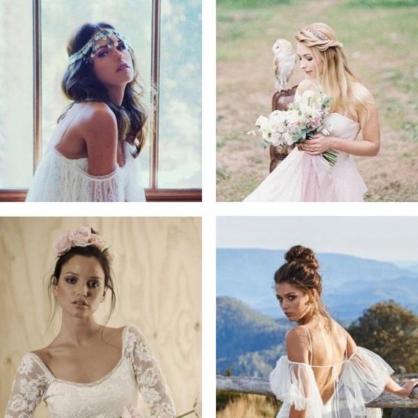 Wedding hairstyles 2017 naturalness