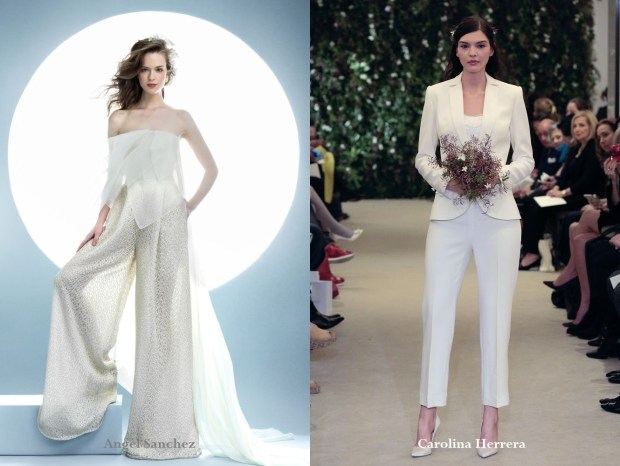 Bridal pant suit 2017