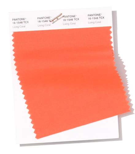 Color of the year 2020 Living Coral