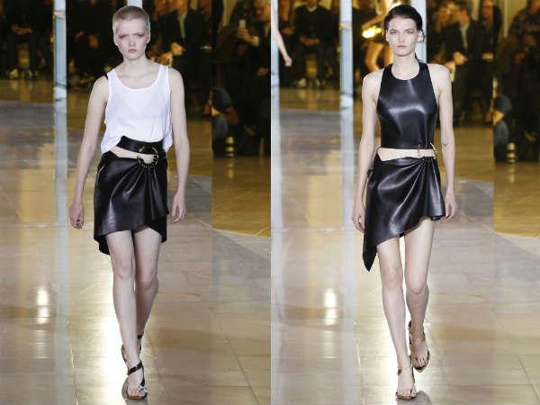 Anthony Vaccarello at Paris Fashion Week