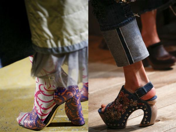 thick heel design